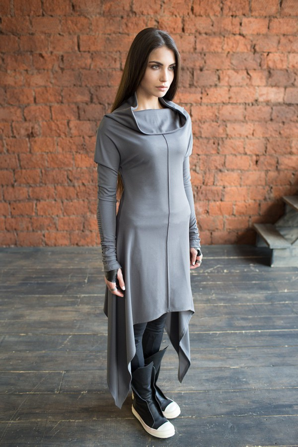 Dress Eva Grey