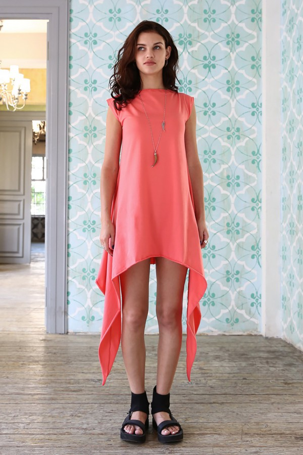 Tunic Eva Cut Coral
