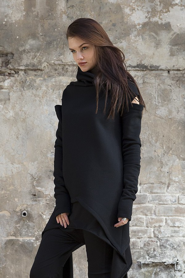 Sweatshirt Cozy Black