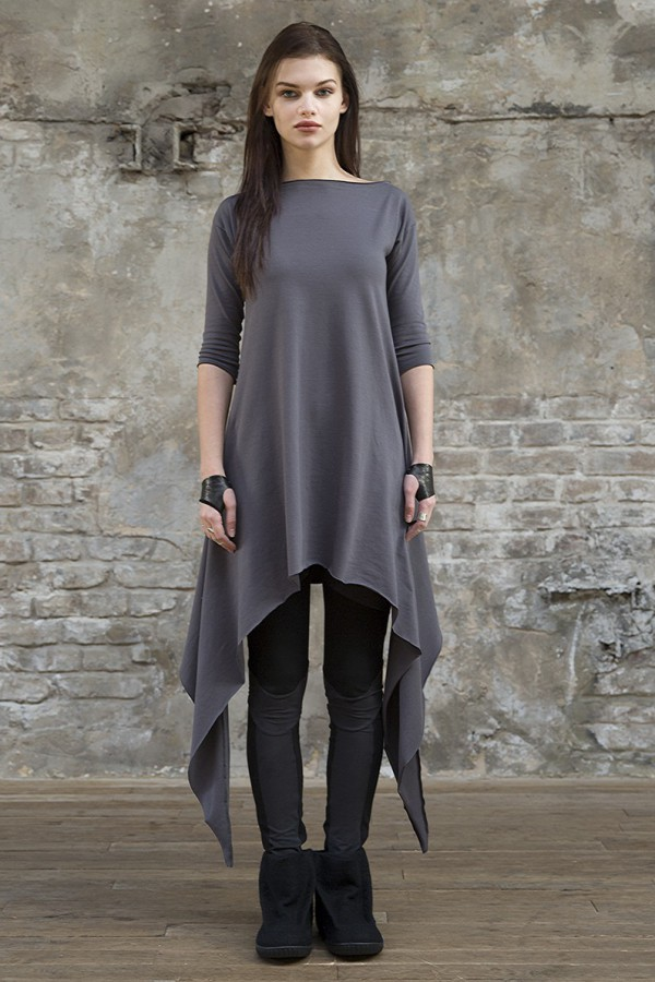 Tunic Eva Basic Grey