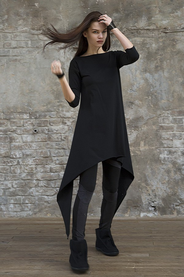 Tunic Eva Basic Black