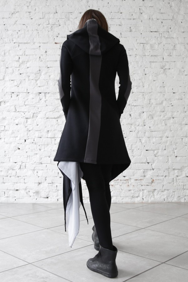 Cardigan Stingray Black Graphite