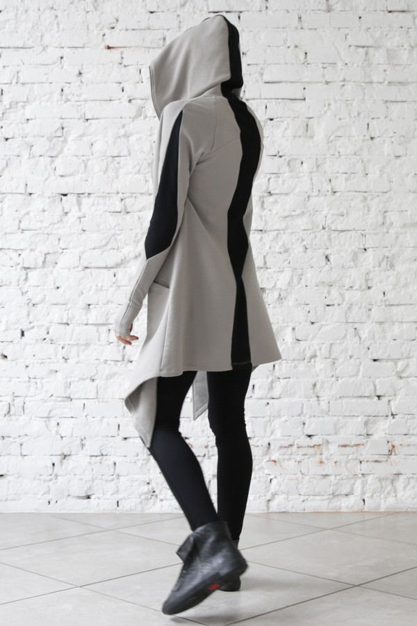 Cardigan Stingray Silver Black