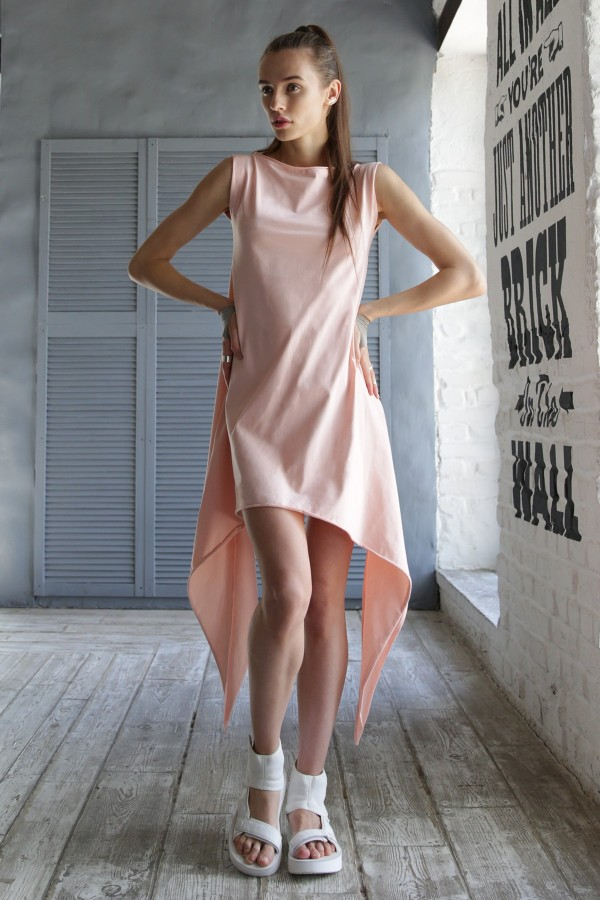 Tunic Eva Cut Blush