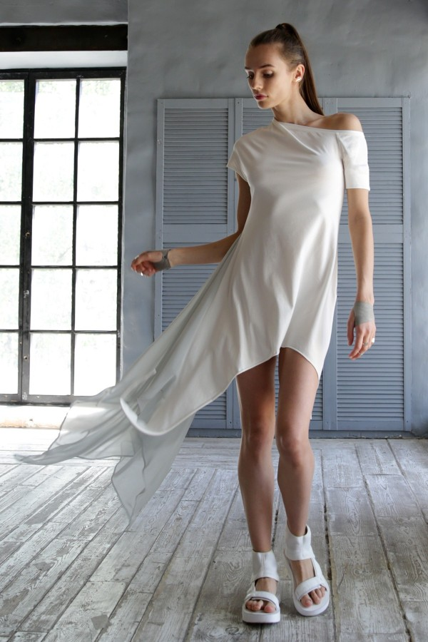 Dress Aurora White Bride