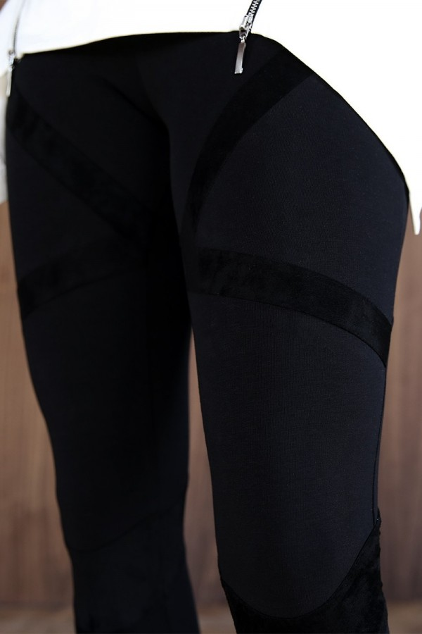 Leggings Bandage Total Black