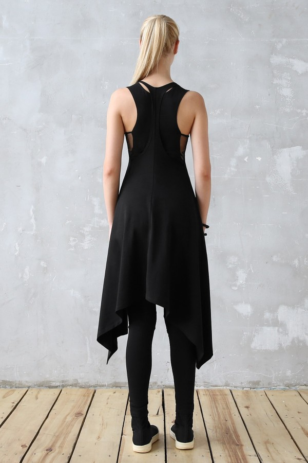 Dress Eva Air Black