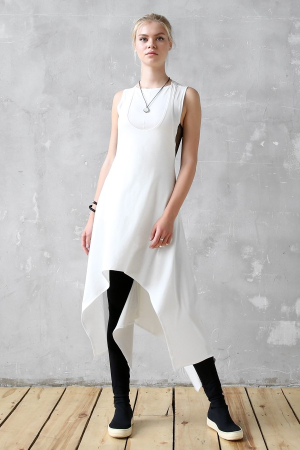 Dress Eva Air White