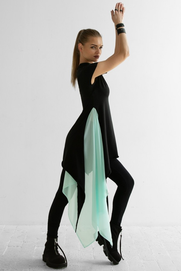 Tunic Aurora Black Heaven