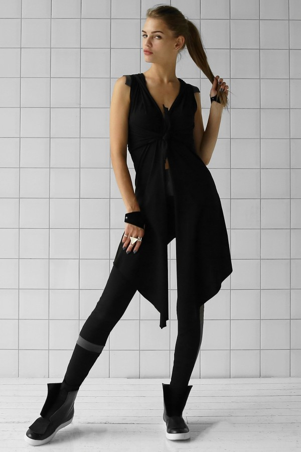 Top and Vest Aril Black Anthracite