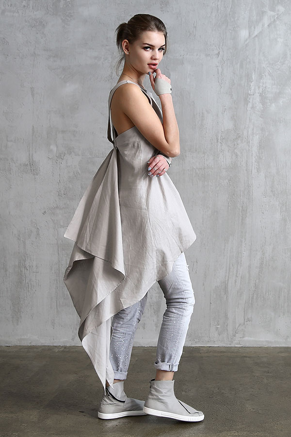 Dress Swallow Linen